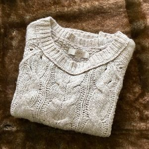 Loft Cable Knot Sweater.